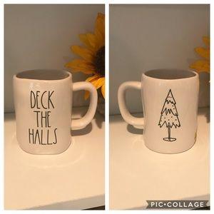 Rae Dunn deck the halls mug